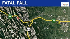 Woman killed while hiking near Canmore