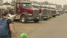 Convoy of supporters for Maple Ridge teen
