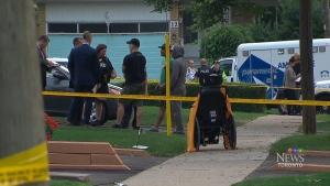 Elderly woman dead after stabbing in Etobicoke nea