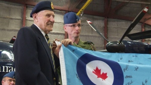 CTV National News: Tribute for Dieppe veteran
