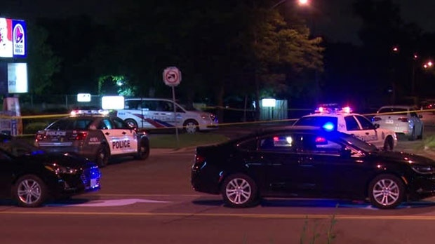Police are investigating a shooting near Kennedy and Ellesmere roads.
