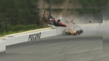 Guelph IndyCar driver involved in crash