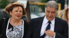 Vicky Fontana is seen with her husband Joe Fontana on June 13, 2014. (Dave Chidley / THE CANADIAN PRESS)