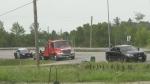 Head-on crash hospitalizes two