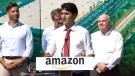 Amazon ground-breaking ceremony