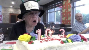 Ont. woman celebrates 103rd birthday with McDonald