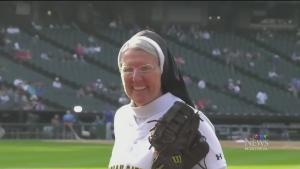 Nun pitching