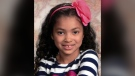 Aaliyah Rosa is shown in this undated image. She died at the age of seven on July 22, 2018.