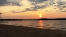 Brereton Lake sunset. Photo by Laura Bennett.