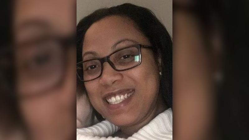 Kerry-Ann Lewis, 36, is seen in this undated image. Lewis has been charged with second-degree murder in the death of her daughter, Aaliyah Rosa.