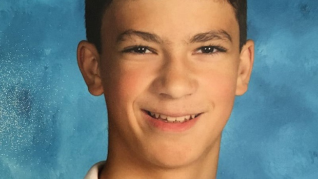 Jack Meldrum, 15, is seen in this photo provided by Toronto police.