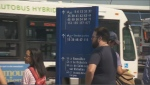 Public transit in places like Longueuil, Brossard, and Saint Lambert is strained by population growth, and the mayors say their citizens are looking for some promises on how Quebec politicians plan to improve it. (CTV Montreal)