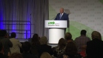 Ontario Premier Doug Ford at AMO meeting in Ottawa