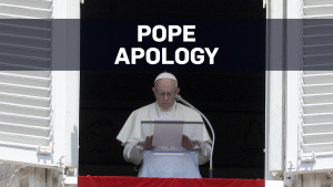 Pope apology