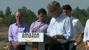 Amazon breaks ground in Ottawa