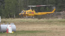 Ontario MNRF helicopter