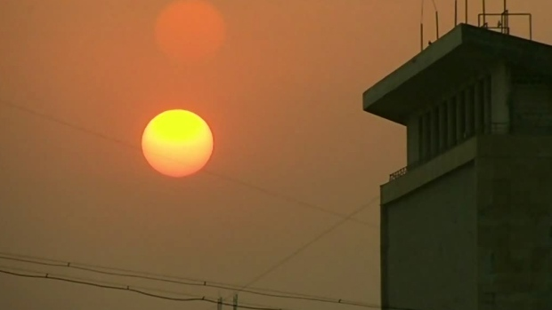 Health risk as smoke blankets Vancouver Island