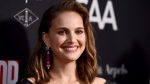 Natalie Portman arrives at the LA Dance Project Annual Gala and Unveiling of New Company Space on Saturday, Oct. 7, 2017, in Los Angeles. THE CANADIAN PRESS/AP, Jordan Strauss/Invision