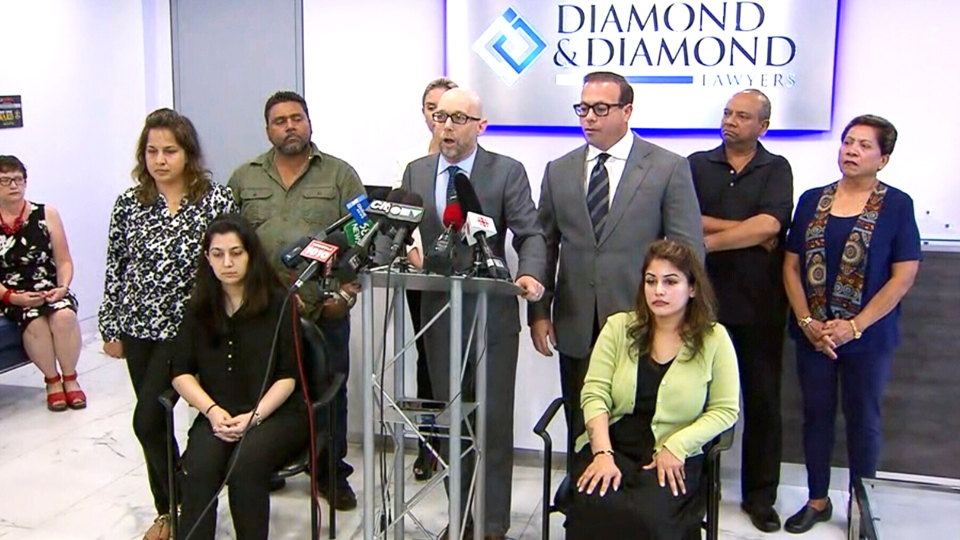 Victims of Mississauga bombing give update