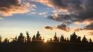 Beautiful sunset at Tadoule Lake. Photo by Emily Powderhorn.