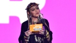 Madonna presents the award for video of the year at the MTV Video Music Awards at Radio City Music Hall on Monday, Aug. 20, 2018, in New York. (Photo by Chris Pizzello/Invision/AP)