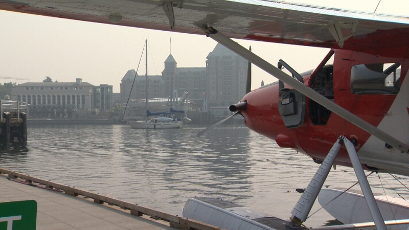 "As of 9 a.m. Friday, air quality was considered a ""low risk"" to health in Victoria."