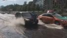 rain lakeshore