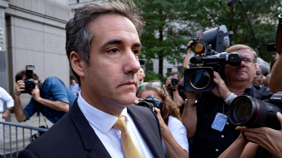 Michael Cohen, former personal lawyer to President Donald Trump, leaves federal court after reaching a plea agreement in New York, Tuesday, Aug. 21, 2018. (AP Photo / Craig Ruttle)