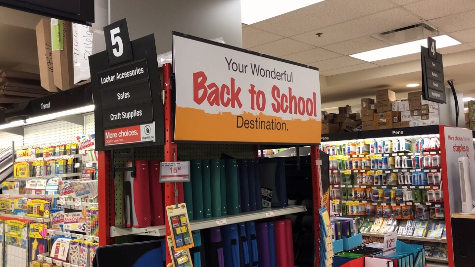 School supplies are seen in this file photo.