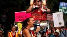 Trans Mountain protestors