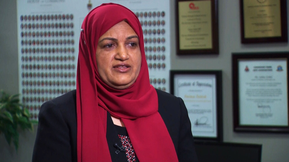Scarborough Centre Liberal MP Salma Zahid talks to CTV News on Wednesday, Aug. 22, 2018.