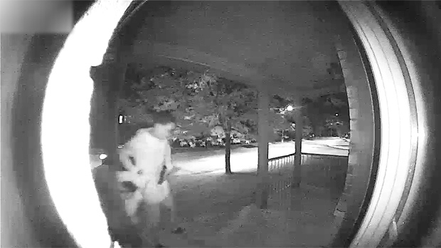 A suspect in a possible armed abduction in Richmond Hill is shown. (YRP)
