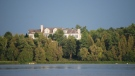 A view from Puslinch Lake of Justin Bieber's reported new mansion. (Source: Donna O'Krafka)