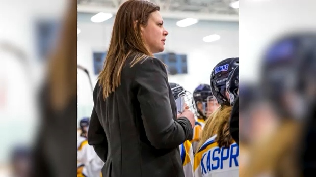 Undated image of Michelle Janus . Janus is no longer the head coach of the University of Lethbridge Pronghorns women's hockey program following a walkout by the players on January 22, 2019