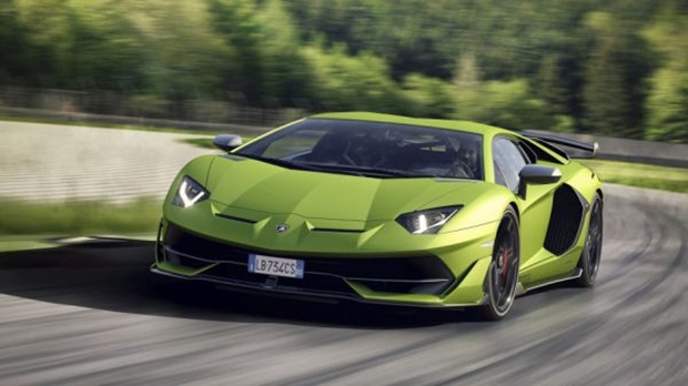 Lamborghini Officially Unveils Aventador Svj Ctv News Autos
