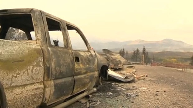 The Kenow wildfire in 2017 devastated much of Waterton Lakes National Park and caused a lot of property damage. (File)