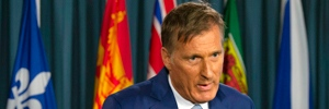 Maxime Bernier responds to questions