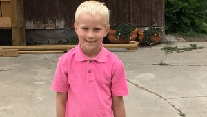Missing child, 7 year-old Greagan Geldenhuys, was last seen Saturday in the Fort Qu'Appelle area.