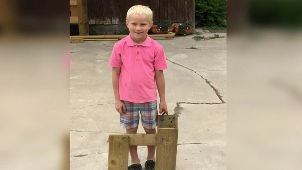 Police searching for missing seven-year-old boy