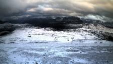 Alberta snow