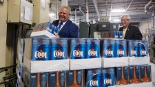 Doug Ford buck-a-beer