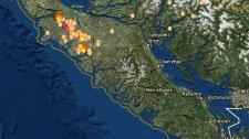 North Island Fires