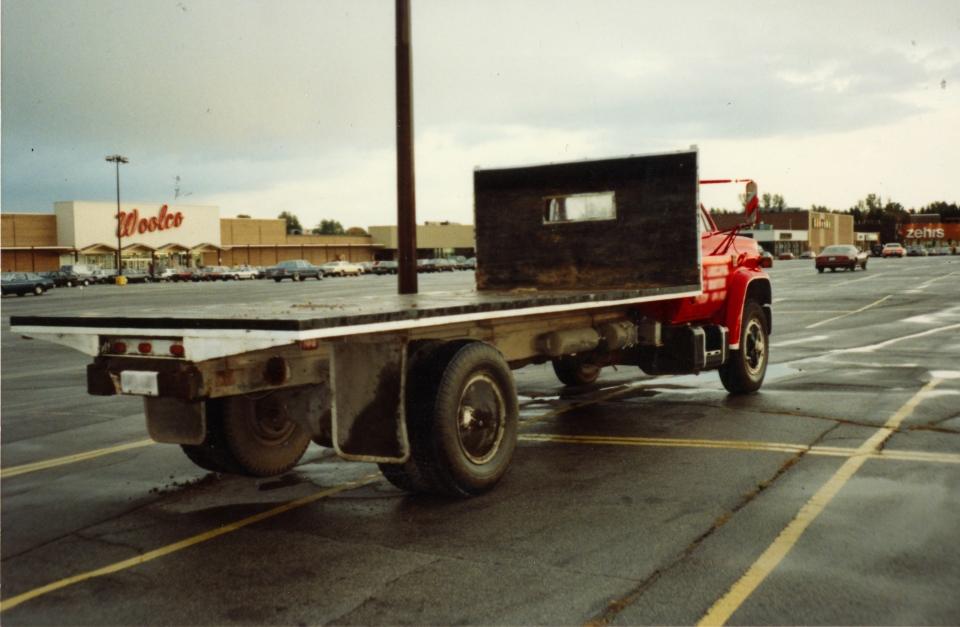 Suspect vehicle in Thera Dieleman murder case. (Supplied)