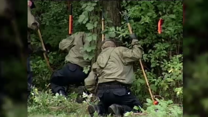A body was found in a wooded area near Rockwood in 2005.