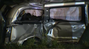 Police say two people were killed and five others were hurt in a crash near Stratford on Tuesday.