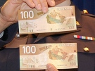 The RCMP released this photo with a warning about counterfeit notes in 2009.