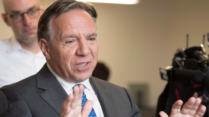 Coalition Avenir Quebec Leader Francois Legault. THE CANADIAN PRESS/Jacques Boissinot
