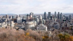 The Montreal skyline as seen from Mount Royal Friday, November 10, 2017 in Montreal.THE CANADIAN PRESS/Ryan Remiorz