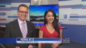 CTV News at 5 celebrate 1 year on the air