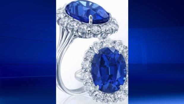 8 carat diamond tanzanite center stone